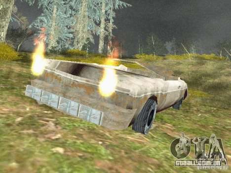 GhostCar para GTA San Andreas segunda tela