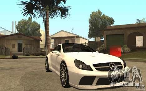 Mercedes-Benz SL65 AMG BS para GTA San Andreas vista traseira