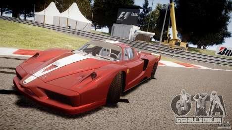Ferrari FXX para GTA 4 interior
