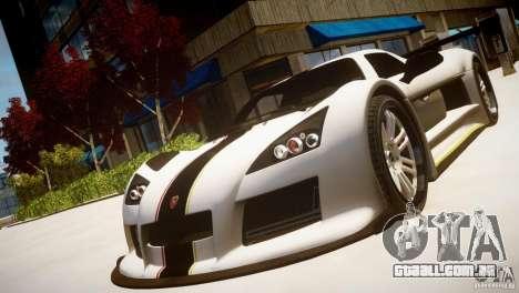 Gumpert Apollo Sport KCS Special Edition v1.1 para GTA 4 vista de volta