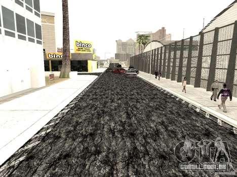 New roads in Las Venturas para GTA San Andreas por diante tela