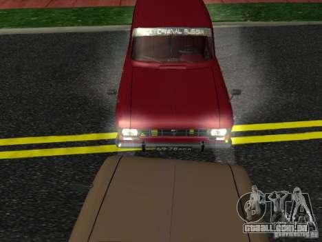 Moskvich 434 para GTA San Andreas traseira esquerda vista