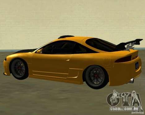 Mitsubushi Eclipse GSX tuning para GTA San Andreas vista direita