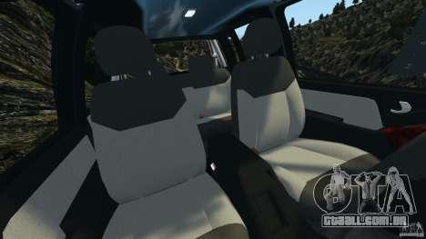 Chevrolet S-10 Colinas Cabine Dupla para GTA 4 vista interior