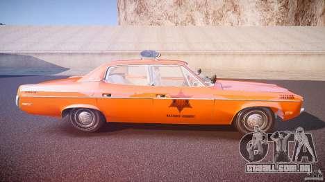 AMC Matador Hazzard County Sheriff [ELS] para GTA 4 vista lateral