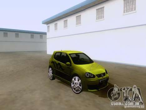 Volkswagen Golf V GTI para GTA San Andreas esquerda vista