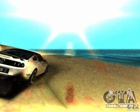 ENB For medium PC para GTA San Andreas segunda tela