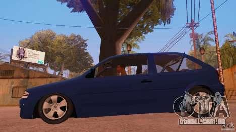Volkswagen Gol G4 para GTA San Andreas esquerda vista