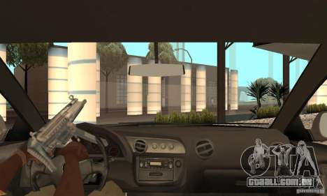 Acura RSX New para GTA San Andreas vista interior
