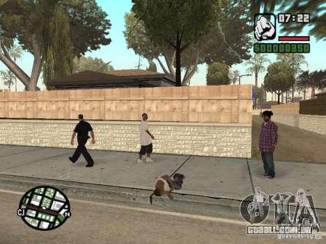 Sono para GTA San Andreas segunda tela