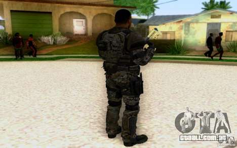 Salazar de CoD: BO2 para GTA San Andreas segunda tela