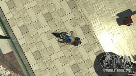 Zombie Bike Paintjob para GTA 4 vista direita