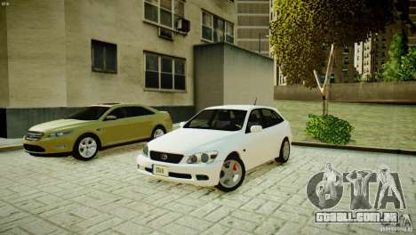 Toyota Altezza Gita Version 2 para GTA 4