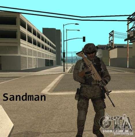 Frost and Sandman para GTA San Andreas por diante tela