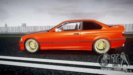 BMW E36 Alpina B8 para GTA 4 esquerda vista