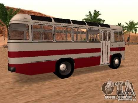 SULCO 672.60 para GTA San Andreas vista traseira