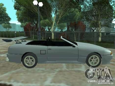 Elegia de Tops conversíveis para GTA San Andreas esquerda vista
