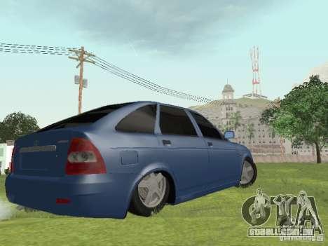 LADA 2170 Hatchback para GTA San Andreas esquerda vista