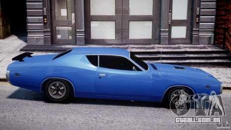 Dodge Charger RT 1971 v1.0 para GTA 4 esquerda vista