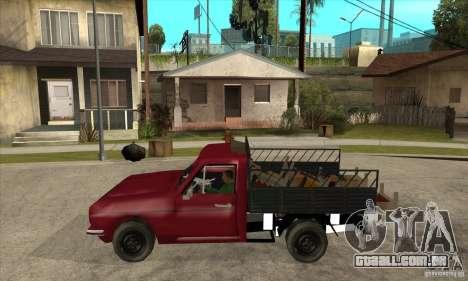 Anadol Pickup para GTA San Andreas esquerda vista