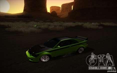 GTA IV Sultan RS para GTA San Andreas traseira esquerda vista