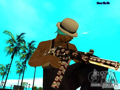 Trollface weapons pack para GTA San Andreas terceira tela