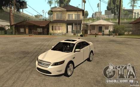 Ford Taurus 2010 para GTA San Andreas