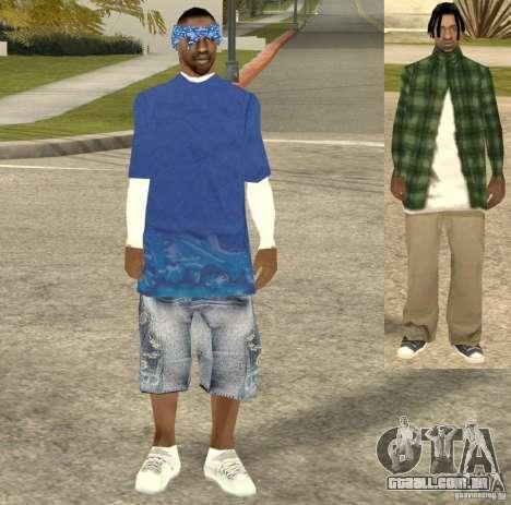 Compton Crips para GTA San Andreas terceira tela