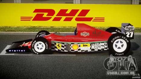 Ferrari Formula 1 para GTA 4 esquerda vista