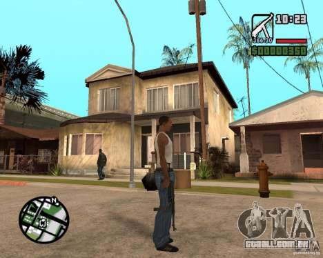 MP 40 para GTA San Andreas terceira tela