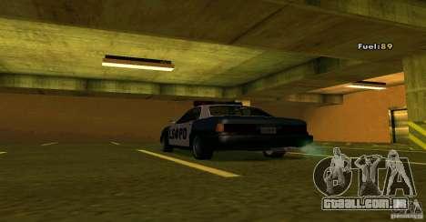 Merit Police Version 2 para GTA San Andreas vista direita