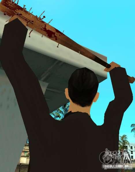 Pedaços sangrentos com unhas HD para GTA San Andreas segunda tela
