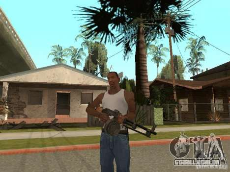 Light Machine Gun Dâgterëva para GTA San Andreas