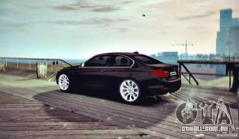 BMW 335i Coupe para GTA 4 vista direita