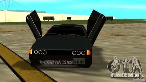 Elegy MIX V.1 para GTA San Andreas vista direita