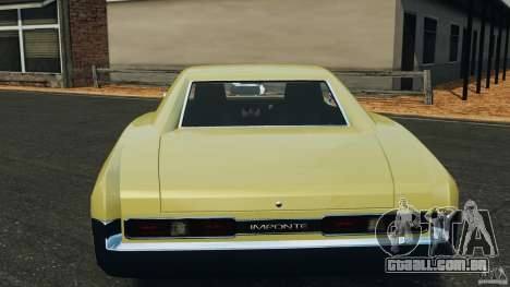 New Dukes para GTA 4 vista inferior