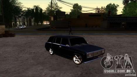 VAZ 2104 para GTA San Andreas vista traseira