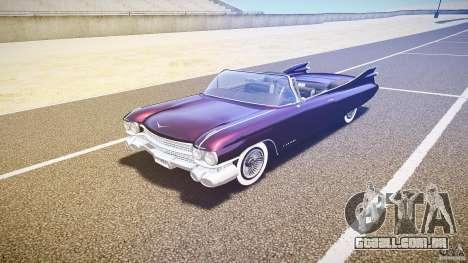 Cadillac Eldorado 1959 interior black para GTA 4 esquerda vista