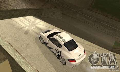 Porsche Cayman S para o motor de GTA San Andreas