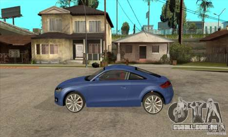Audi TT 2007 para GTA San Andreas esquerda vista