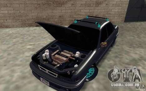 Mitsubishi Galant para GTA San Andreas vista traseira