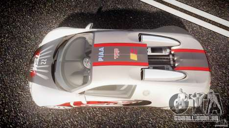 Bugatti Veyron 16.4 v1 para GTA 4 vista superior