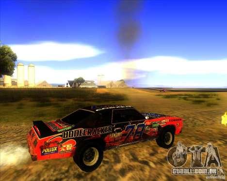 Bonecracker de FlatOut 1 para GTA San Andreas vista direita