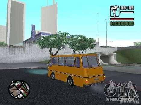TV 7 para GTA San Andreas esquerda vista