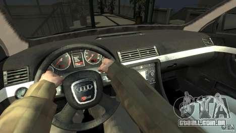 Audi S4 Quattro para GTA 4 vista direita