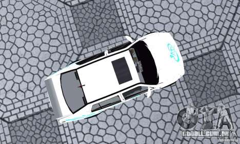 Volkswagen Jetta FnF para GTA San Andreas vista direita