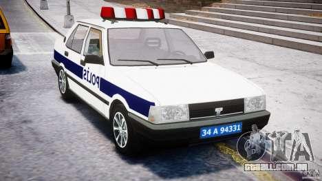 Tofas Sahin Turkish Police v1.0 para GTA 4 vista direita