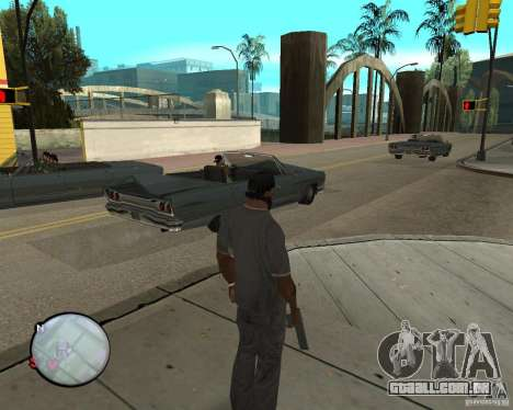 Police On Radar para GTA San Andreas segunda tela