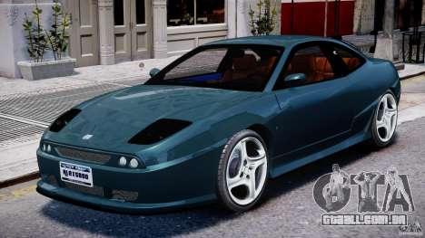 Fiat Coupe 2000 para GTA 4 esquerda vista