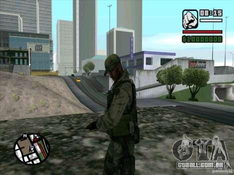 Dave de Resident Evil para GTA San Andreas segunda tela